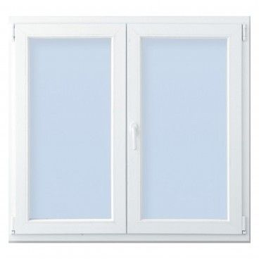 Janela PVC Vidro Duplo 2 Folhas