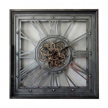 Relógio Vintage Quadrado