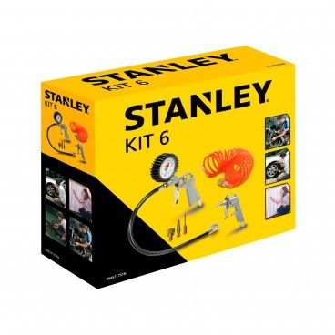 Kit de Pintura Stanley 8 Peças