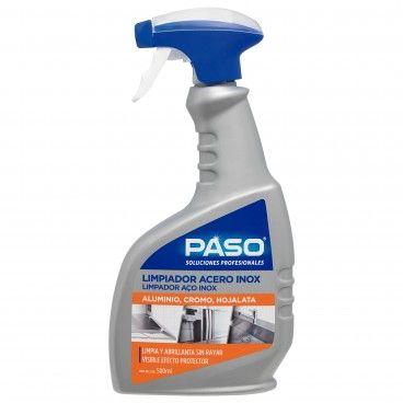 Limpador Profissional Aço Inox Paso 500ml