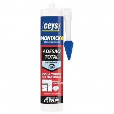 Cola de Montagem Ceys Montack Express Transparente 315g