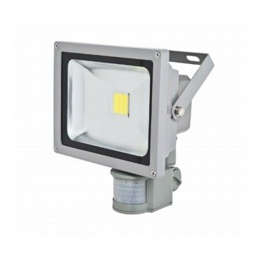 Projetor Exterior LED com Sensor 10W 650Lm 6000K