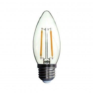 Lâmpada Led Filamento E27 2W 180Lm 3000K