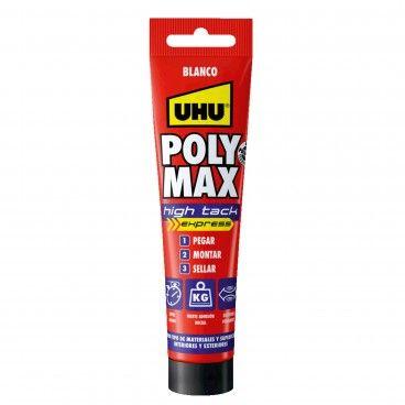 Cola e Veda UHU Poly Max High Tack Express 165g