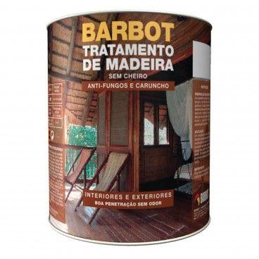 Tratamento Madeira sem Cheiro Barbot