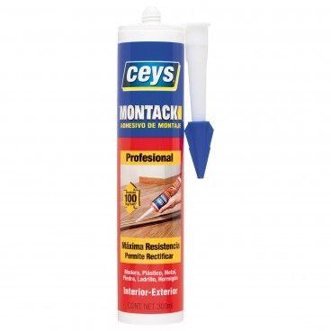 Cola de Montagem Ceys Montack sem Pregos e Parafusos 300ml