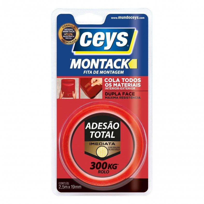 Fita de Montagem Ceys Montack Express 2.5mx19mm