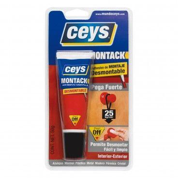 Cola de Montagem Ceys Montack Desmontável 50g