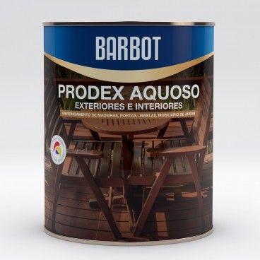 Verniz Barbot Prodex Aquoso Incolor Exterior