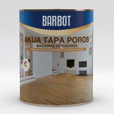 Verniz Aquoso Barbot Akua Tapa Poros