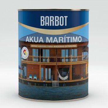 Verniz Aquoso Barbot Akua Marítimo 0.75L
