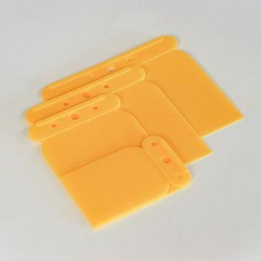 Conjunto de Espátulas de Plástico Presto