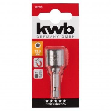 Kwb Casquilho Magnético E6.3