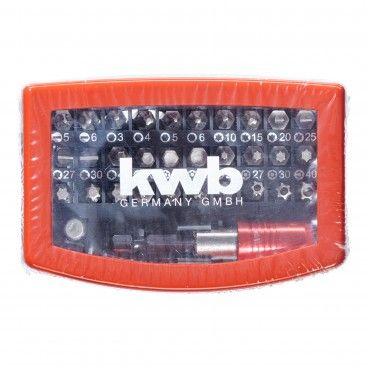 Kwb Conjunto Pontas 32 Peças