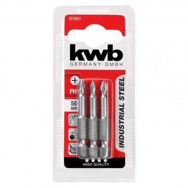 Kwb Conjunto 3 Bits PH Industrial 50 mm