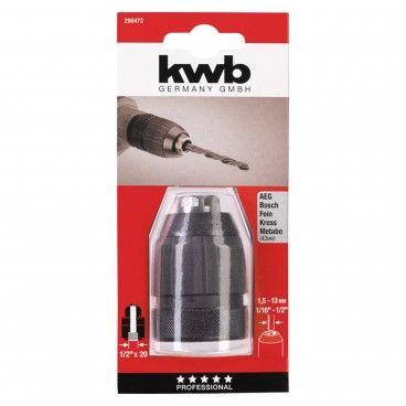 "Kwb Portabrocas Automático 1.5-13mm 1/2"""