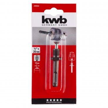 """Kwb Adaptador SDS-Plus para Portabrocas 1/2""""x20mm"""