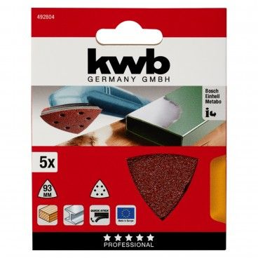 Kwb Kit 5 Lixas 93x93x93mm