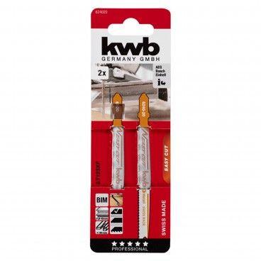 Kwb Lâmina para Serra Tico-Tico Easy-Cut BIM Metal 2un