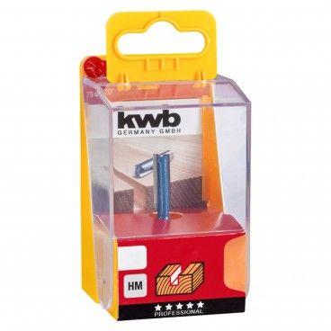 Kwb Fresa Reta HM para Madeira Encaixe 8mm