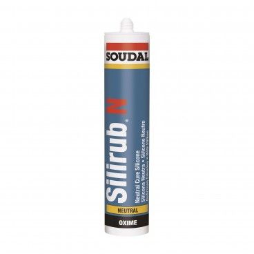 Silicone Neutro Universal Soudal Silirub N 300ml
