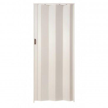 Porta de Fole PVC Una 205x84cm Branco