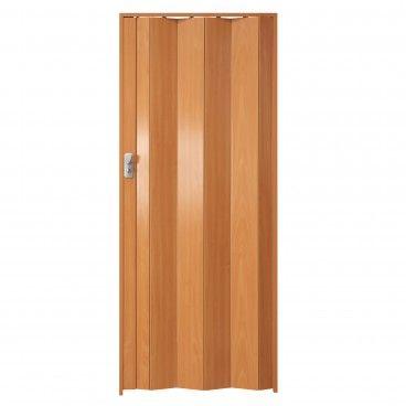 Porta de Fole PVC Spacy 205x84cm Madeira Natural