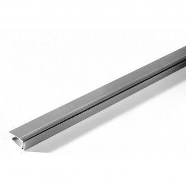 Perfil Extremidade PVC Metal Alumínio