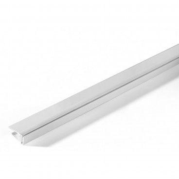 Perfil Extremidade PVC Branco 5-8mm