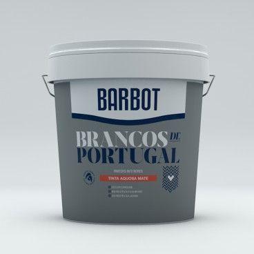 Tinta Plástica Barbot Brancos de Portugal Madeira