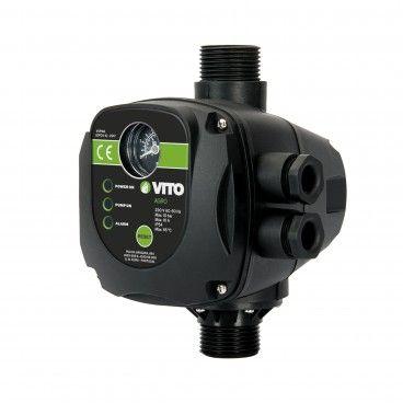 Interruptor de Pressão com Manómetro Vito