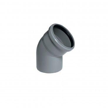 Curva em PVC 45º - DIN