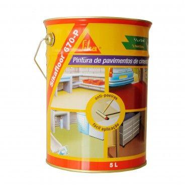 Tinta Acrílica para Pavimentos de Cimento Sikafloor 670 P