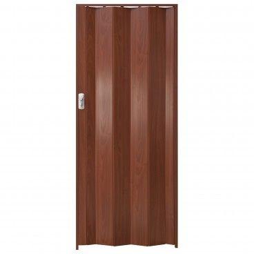 Porta de Fole PVC Spacy 205x84cm Carvalho Escuro