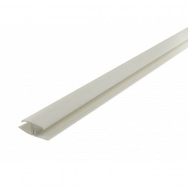 Perfil União PVC Branco