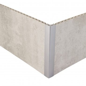 Perfil Angular PVC Metal Alumínio