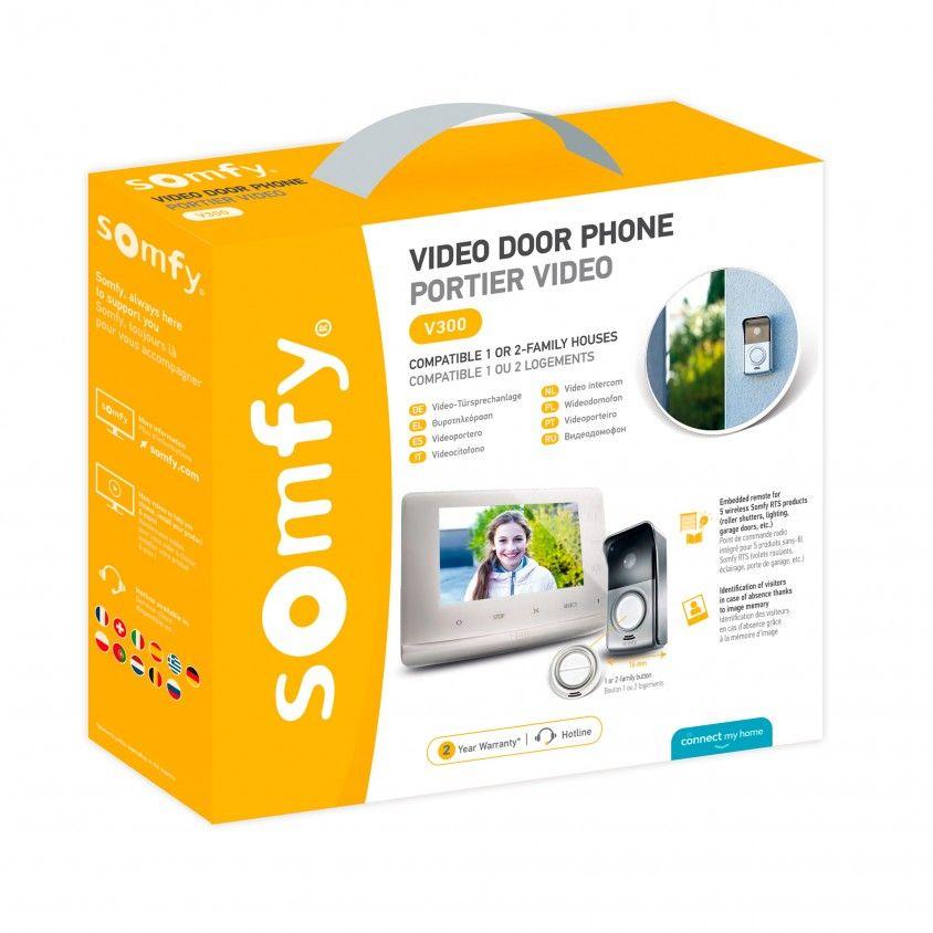Videoporteiro Somfy V300