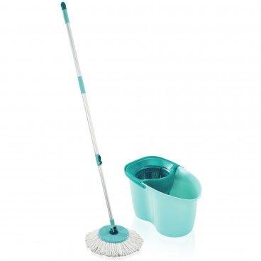Set Balde e Esfregona Leifheit Clean Twist Mop Active
