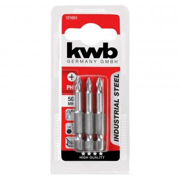 Kwb Conjunto 3 Bits PH Industrial 50 mm