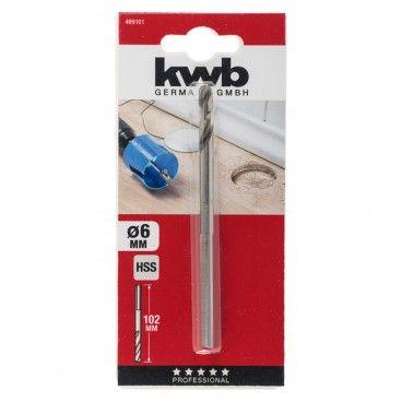 Kwb Broca Centradora HSS 6.0mm