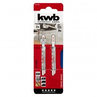 Kwb Lâmina para Serra Tico-Tico Metal Corte Fino 50mm 2un