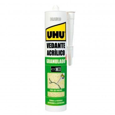 Vedante Acrílico Granulado para Fendas e Fissuras UHU 280ml