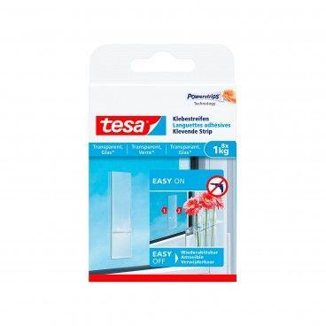 Tiras Adesivas Tesa Powerstrips para Vidros até 0.2kg