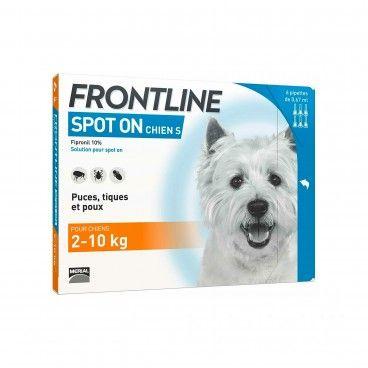 Desparasitante Cão Frontline Spot On 2-10Kg