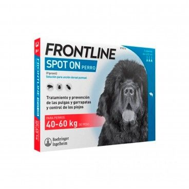 Desparasitante Cão Frontline Spot On 40-60Kg
