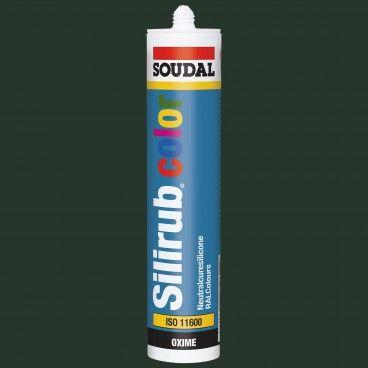 Silicone Neutro Soudal Silirub Color 310ml