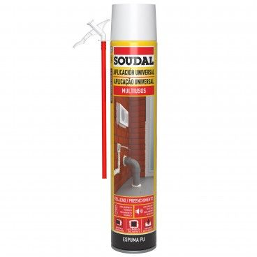 Espuma de Poliuretano Manual Soudal 750ml