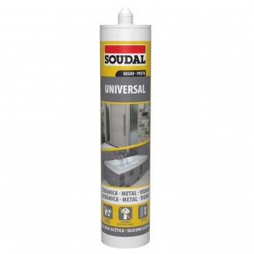 Silicone Universal Acético Soudal 280ml