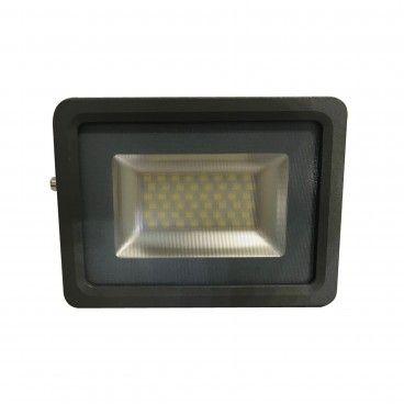 Projetor Exterior LED Slim 30W 2700Lm 4200K
