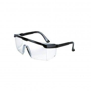 Óculos de Proteção em Policarbonato Incolor com Proteção Lateral